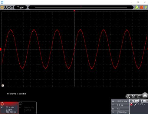 Motor Waveform 19000 RPM