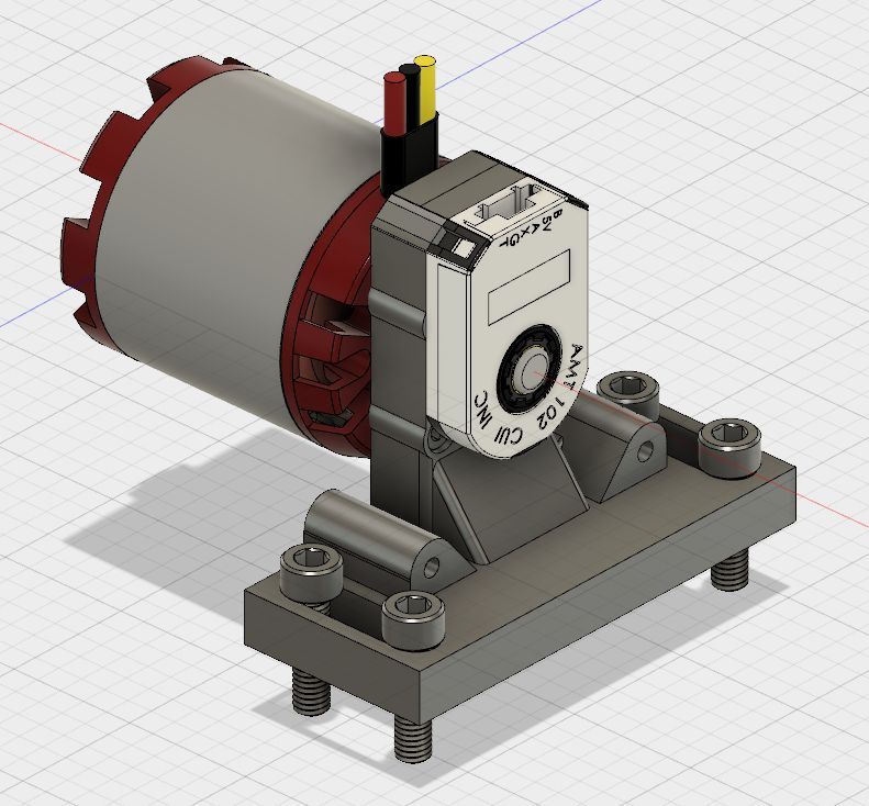 5065 motor and encoder only